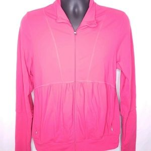 Lucy Activewear Womens Pink Long Sleeve Jacket